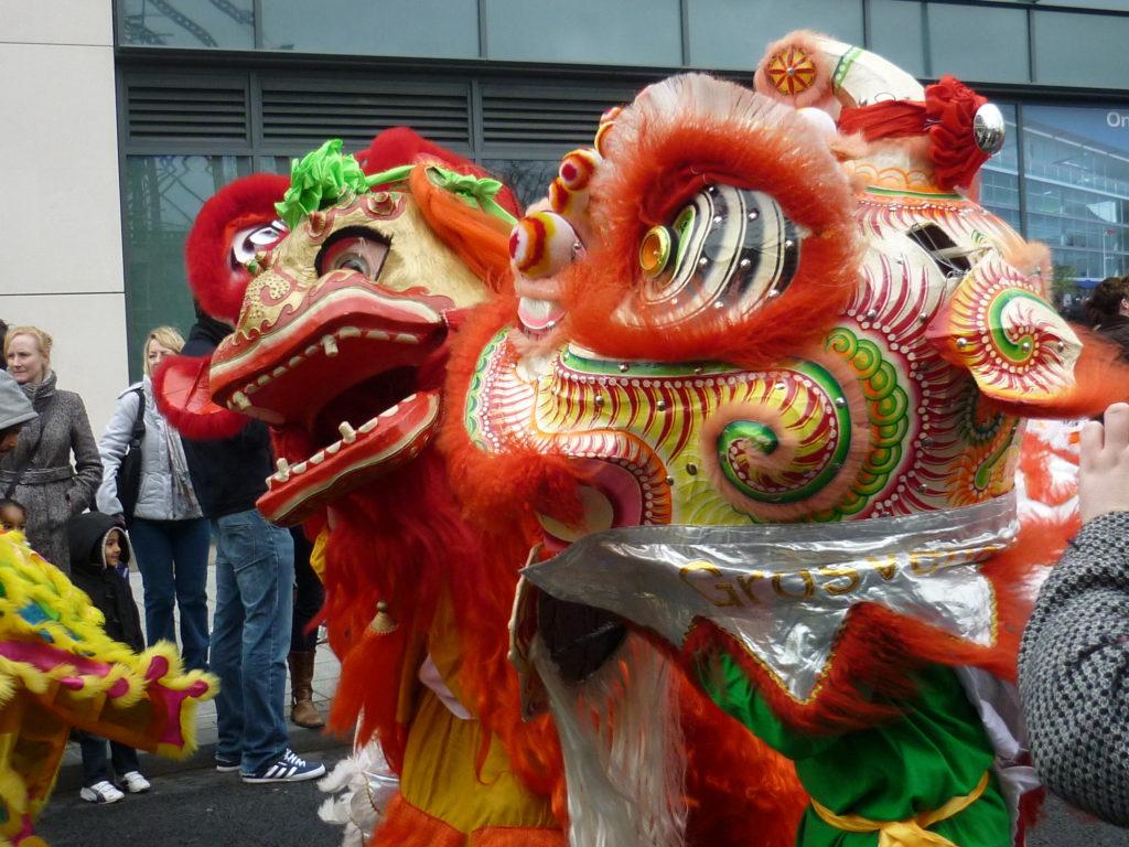 Nuevo año chino Southampton (UK) 2010 Foto de: Tatiana Gélvez