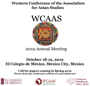 Western Conference of the Association for Asian Studies WCAAS