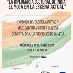 """Seminario: """"La diplomacia cultural de India: el Yoga en la escena actual"""""""